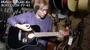 Обзор электроакустической гитары Cort AD880CE BK