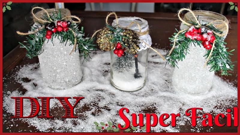 Como Hacer Decoraciones Navideñas Reciclando Super Bonitas DIY