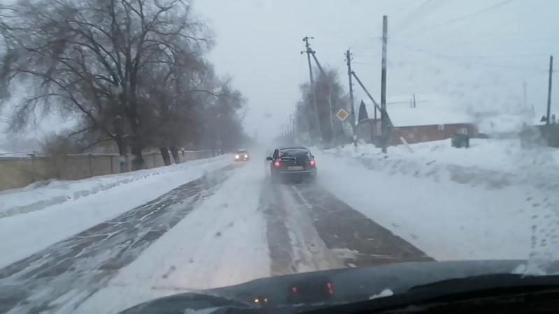 Не большая прогулка по зимним Пугачёву ✌️✌️✌️