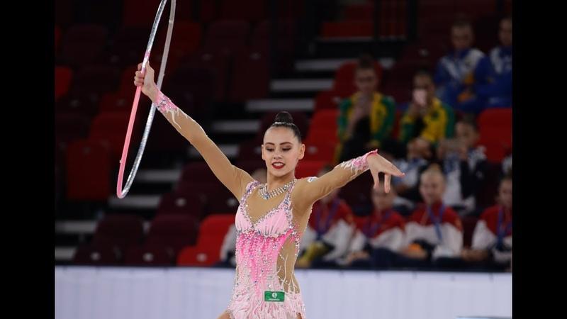 Daria Trubnikova - Hoop Nationals 2019 QAA 22.40