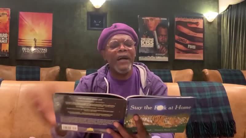Семюел Л. Джексон прочитав казку про коронавірус на шоу Jimmy Kimmel Live