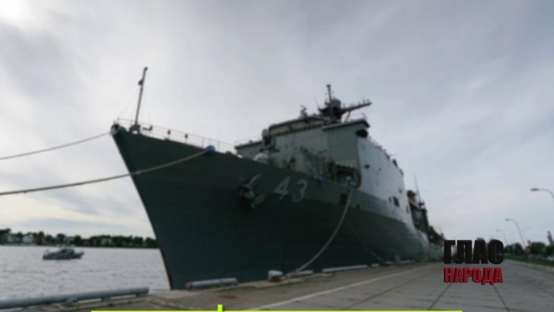 ✔ ПОТЁМКИНСКИЕ ДЕРЕВНИ: Американский корабль опозорился в Риге