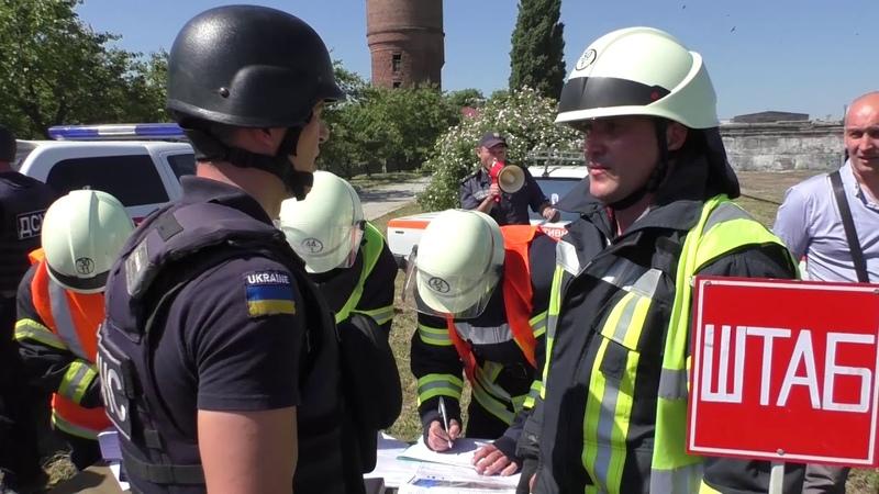 Луганська область: тактико-спеціальні навчання з гасіння пожеж на залізничному транспорті