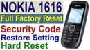 Nokia 1616 RH-125 Full Factory Reset, Remove Codes, Reset, Restart On Ringtones - Tahir Technical Tv