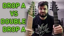 Drop A vs DOUBLE Drop A (7 String vs 9 String Guitar)