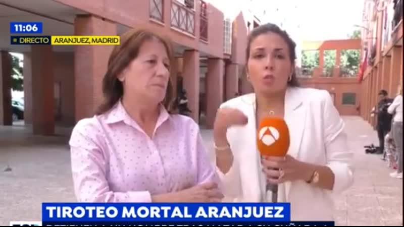 Testigo del crimen de Aranjuez La suegra se estaba desangrando y la chica estaba tirada