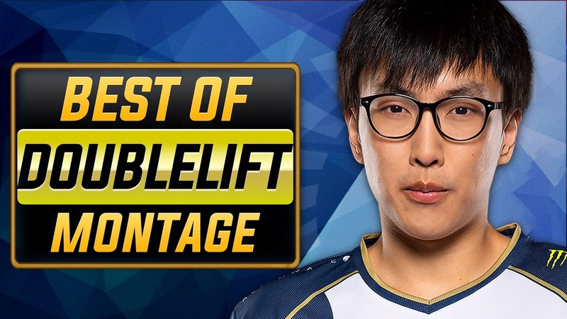 Doublelift The Unstoppable Montage | Best of Doublelift