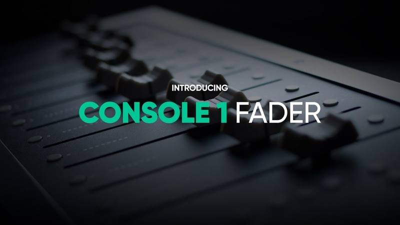 Introducing Console 1 Fader – Softube