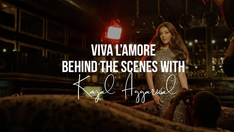 Viva LAmore Cover Shoot | Behind The Scenes With Kajal Aggarwal