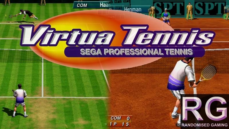 Virtua Tennis - Sega Dreamcast - Intro full arcade playthrough [HD 1080p 60fps]