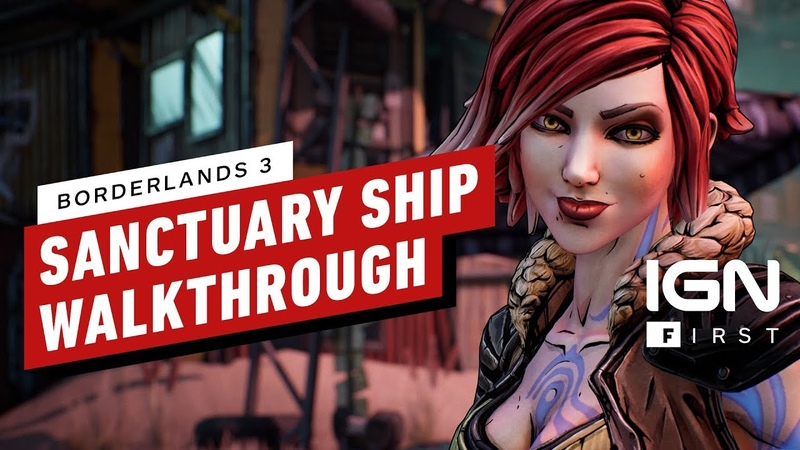 Borderlands 3's Sanctuary 3 Ship Walkthrough IGN First
