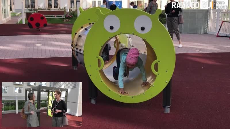 Обзор детских площадок - ЮИТ - Смольный проспект