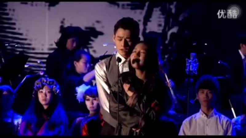 A Little Fall Of Rain Paroles (мюзикл Отверженные) - Ван Чжочэн