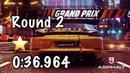 Asphalt 9 Grand Prix - 718 Cayman GT4 - Finals Round 2 - 0:36.964 w 1* - Reach for the sky