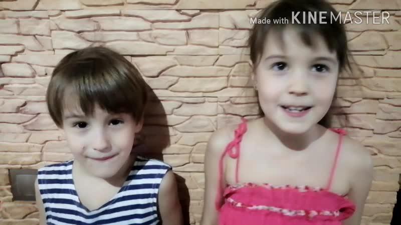 Смешные дети видеообзор с Ромиком и Викторией