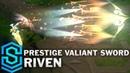 Prestige Valiant Sword Riven Skin Spotlight - Pre-Release - League of Legends