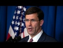 Watch live: Defense Secretary Esper gives briefing amid Iran conflict