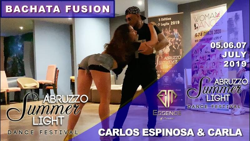 CARLOS ESPINOSA CARLA CAPO [Bachata Fusion] ✦ Abruzzo Summer Light 2019 ✦