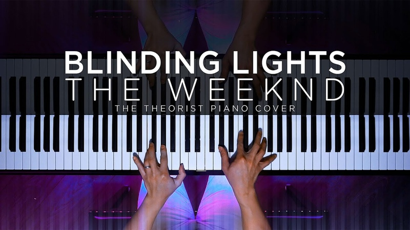 The Weeknd Blinding Lights The Theorist Piano Cover