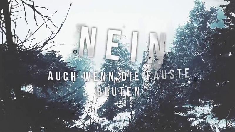 Erdling feat. Marc from Caliban - Getrieben von Hass (Official Lyric Video)