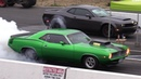 Old vs New Muscle Cars Drag Racing - Demon,Cuda,Shelby,ZL1,Hellcat,Dodge Charger