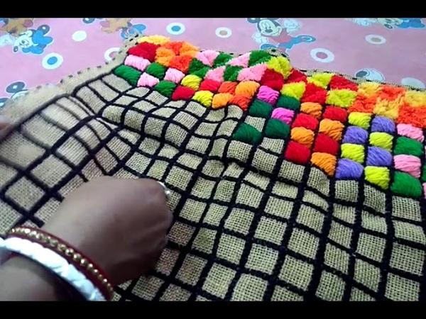 Ason Tairi Korun Kub Sohoje Such R Wool Diye Chanta Full Tairi Kora Sikhun