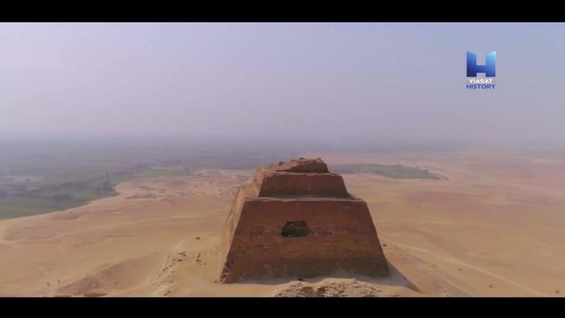 Разгадка тайны пирамид Медум и тайна ненастоящей пирамиды Древнего Египта Док фильм Viasat History