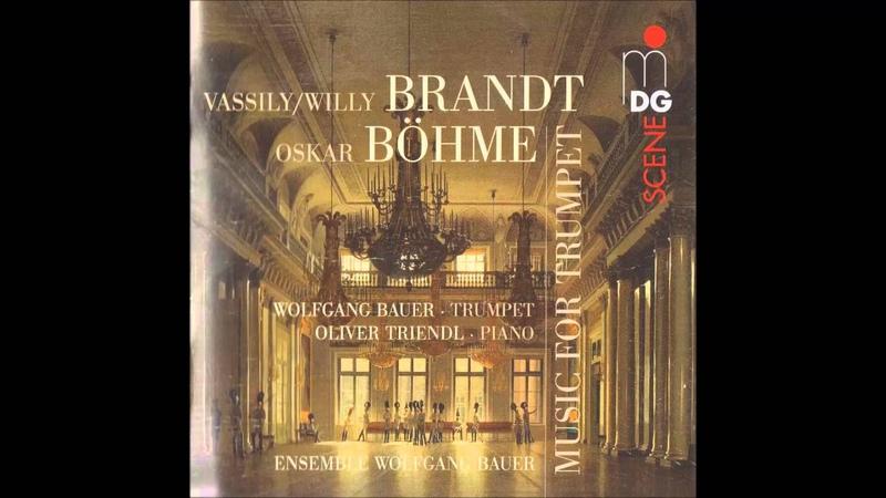 Oskar Böhme Russian Dance For Trumpet And Piano Op 32
