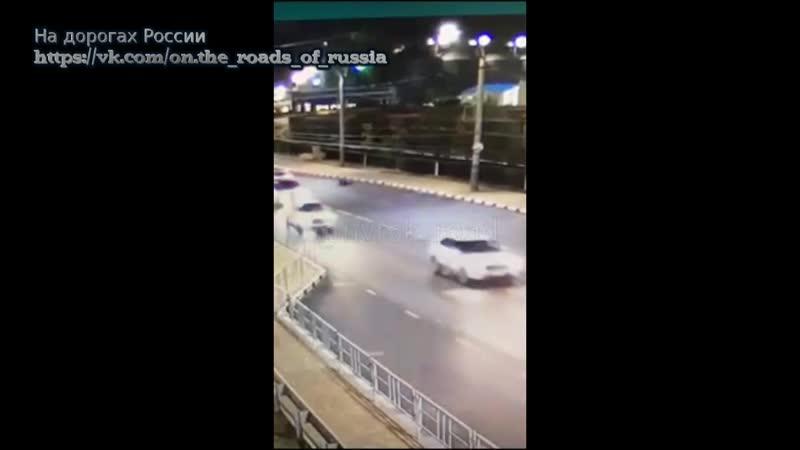 Камера запечатлела момент гибели пешехода в Новороссийске