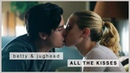 Betty jughead | all the kisses (s1-s3)