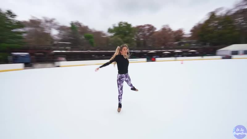 Skating in Central Park with Sophia Adams - Coldplay Cover to O (Fly On)