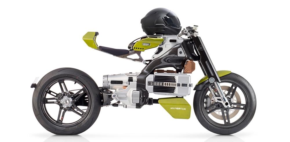 Электроцикл BST Hypertek стоимостью 80 000 долларов
