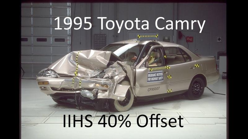 1992 1996 Toyota Camry Holden Apollo IIHS Moderate Overlap 40% Offset