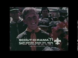 1970 BOY SCOUTS OF AMERICA  SCOUT-O-RAMA & SCHOOL NIGHT PROMOS w/ L.A. RAMS XD49404