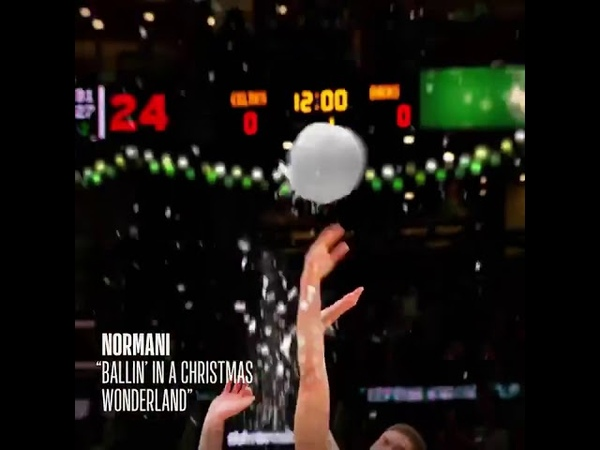 Normani Ballin' In a Christmas Wonderland NBA 30 Sec Ad 2019