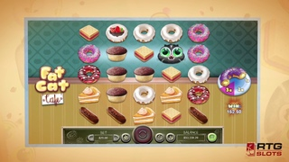 Fat Cat Café ~ Delicious Sweets with Adorable Kitties' Slots Games!!