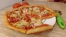 ПИЦЦА НА КЕФИРЕ без дрожжей Быстрое и Вкусное Тесто для Пиццы на Кефире!