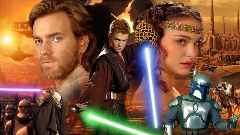 Звёздные войны Эпизод 2 Атака клонов Star Wars Episode II Attack of the Clones 2002 =1440p 60fps