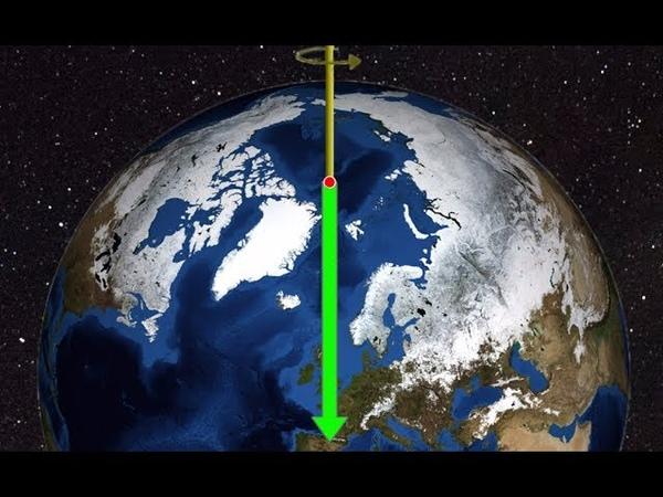 Северный полюс движется в сторону Лондона довольно быстро