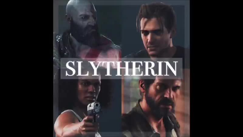Slytherin|•|TLOU|God of war|Uncharted|•|determined|ambitious|cunning|leader|