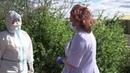 Обмен опытом между военными медиками и врачами из Москвы в полевом госпитале в Чите