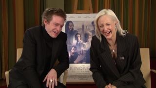 Caleb Landry Jones & Andrea Riseborough THE KINDNESS OF STRANGERS Interview Berlin Film Festival