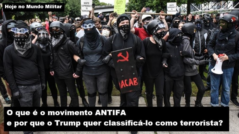 O que é o movimento ANTIFA e por que o Trump quer classificá lo como terrorista