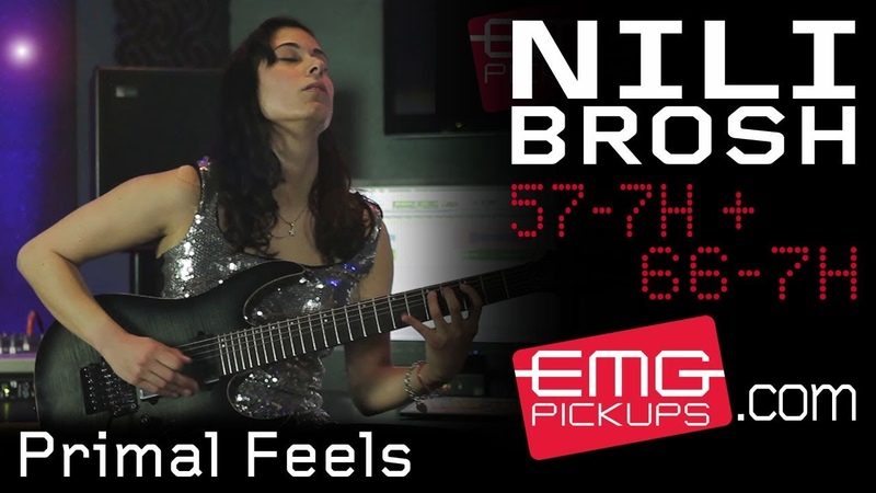 Nili Brosh performs Primal Feels live on EMGtv