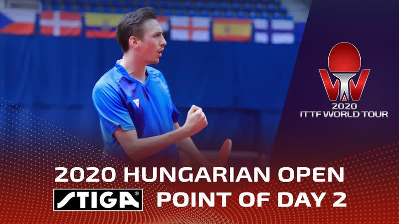 STIGA Point Of The Day 2 Hungarian Open 2020