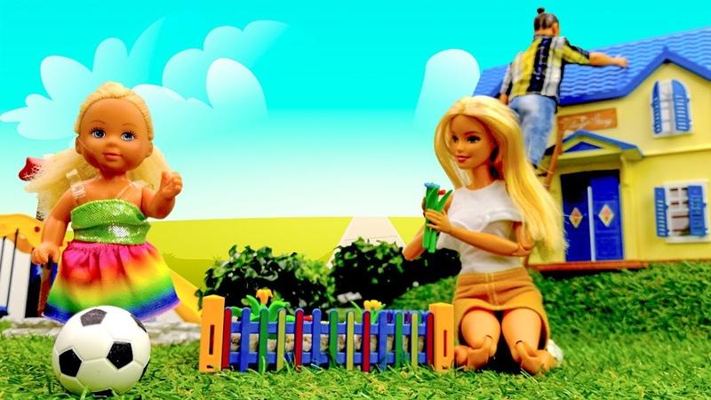 Férias com a Barbie na casa de campo Novelinha da boneca Barbie em português