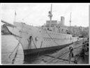 HITLER'S YACHT IN HARTLEPOOL.. RARE FILM FOOTAGE.