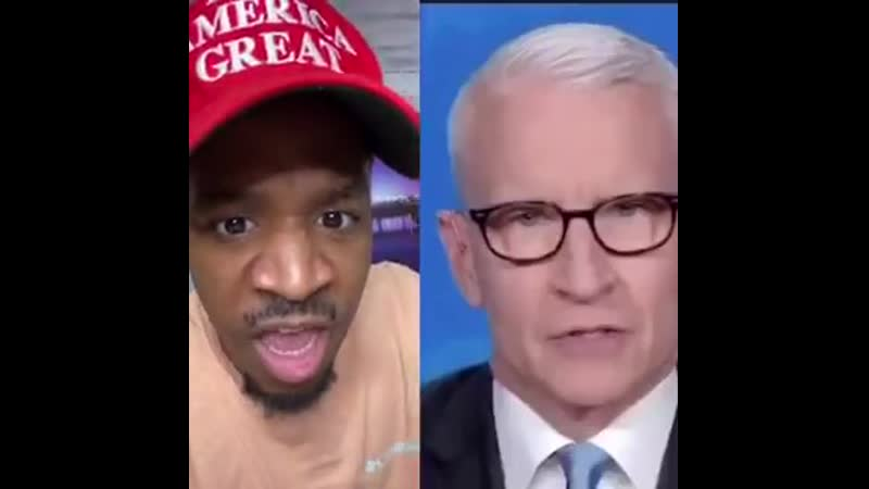 SCUMMEDIA Anderson Cooper is lying again COOPER IS WORKING HARD TO DIVIDE US