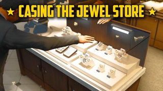 GTA 5 Casing the Jewel Store ⭐ Real Life Mods Grand Theft Auto V - Gameplay Walkthrough - Part 11
