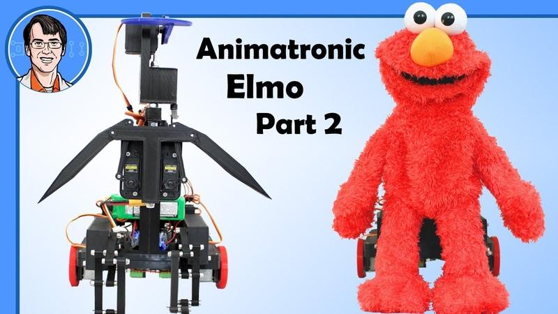 Animatronic-Me Elmo 2 : Upper Body